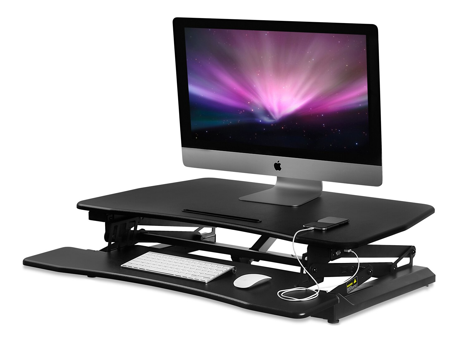 Mount It Mount It Electric Sit Stand Workstation