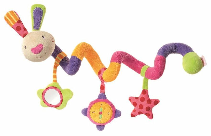 babyFEHN 芬恩 - 探險家小兔布偶扭扭圈玩具 0