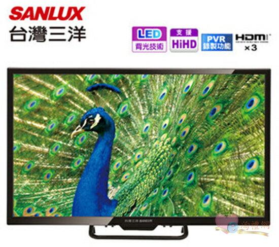 淘禮網 SANLUX 台灣三洋 32吋LED背光液晶顯示器 SMT-32MV7 / 預約錄影 / FullHD / LED背光