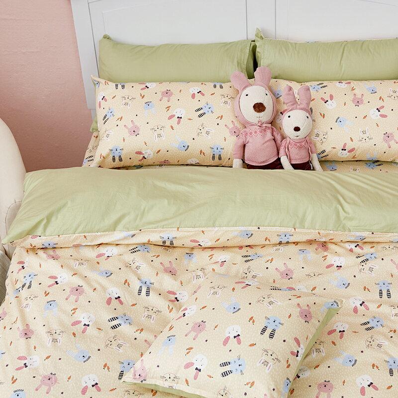 床包  /  雙人-100%精梳棉【妮妮公主】含兩件枕套 戀家小舖 好窩生活節  台灣製 6