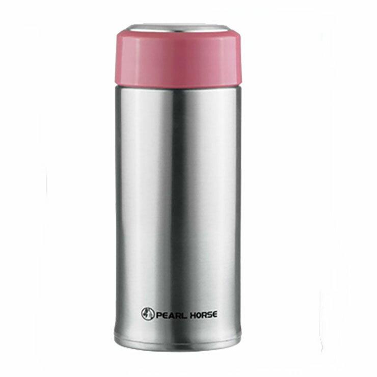 寶馬牌 316不鏽鋼 隨手杯 SHW-X5-520 520ml 保溫杯 保溫瓶/罐 保冷保熱兩用 粉紅