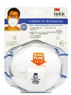 【safetylite安心生活館】《滿額899免運》3M™ TEKK Protection™ 防異味及防油煙口罩 - 閥型舒適款