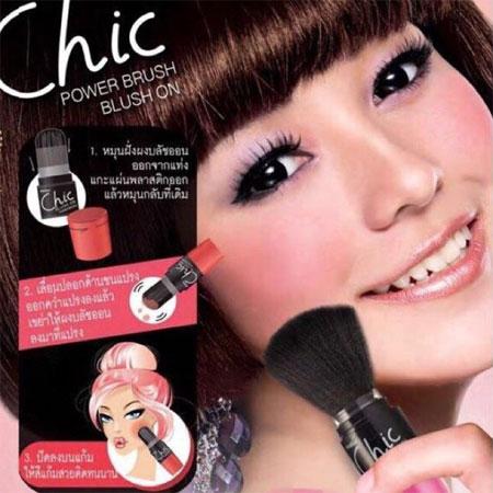 泰國Mistinechicpowderbrush腮紅刷腮紅刷子刷具【B061816】