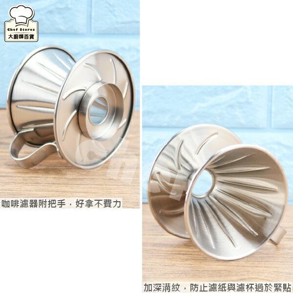 寶馬牌不銹鋼錐形咖啡濾器1-2人需搭配錐形濾紙使用-大廚師百貨