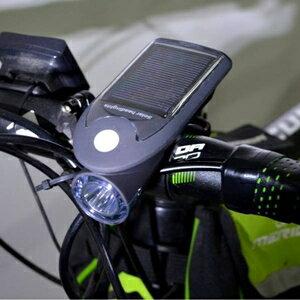 美麗大街【BK13419056】新款 太陽能自行車燈 USB充電燈 360旋轉底座騎車裝備