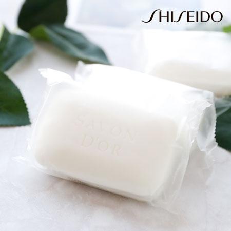 日本SHISEIDO資生堂SavonD'or全身皂90g沐浴皂洗面皂洗顏皂洗臉皂肥皂香皂洗臉身體兩用皂【B063160】