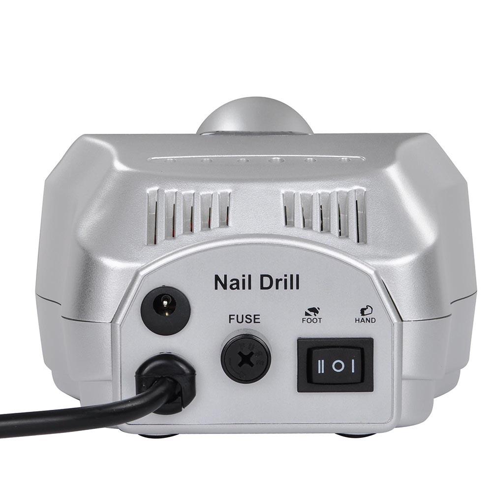 YescomUSA: Professional Silver Electric Nail Drill File Bits Machine ...