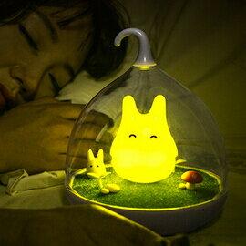 WallFree窩自在★童話景觀超萌小精靈LED床燈/小夜燈-快樂黃