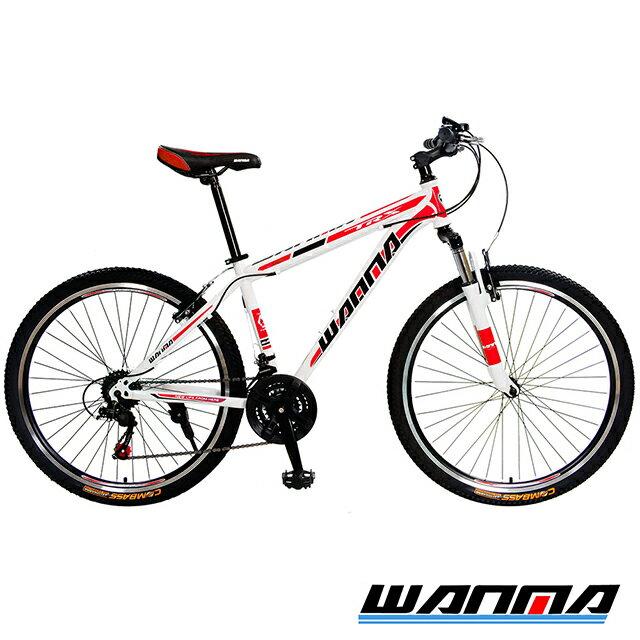 【WANMA】WM-1 26吋 日本SHIMANO 21速 登山車-DIY版