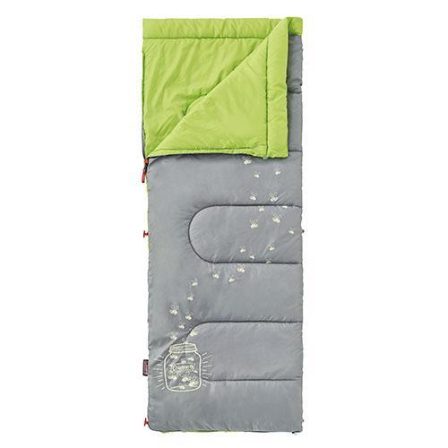 ├登山樂┤美國 Coleman 夜光型萊姆綠兒童睡袋/C7 #CM-22259M000
