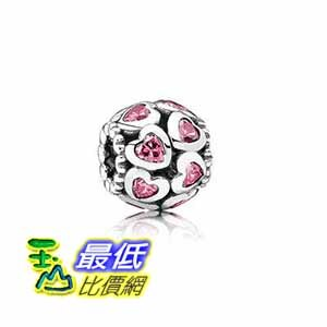 [COSCO代購如果沒搶到鄭重道歉] Pandora 粉紅愛心串飾 W106443