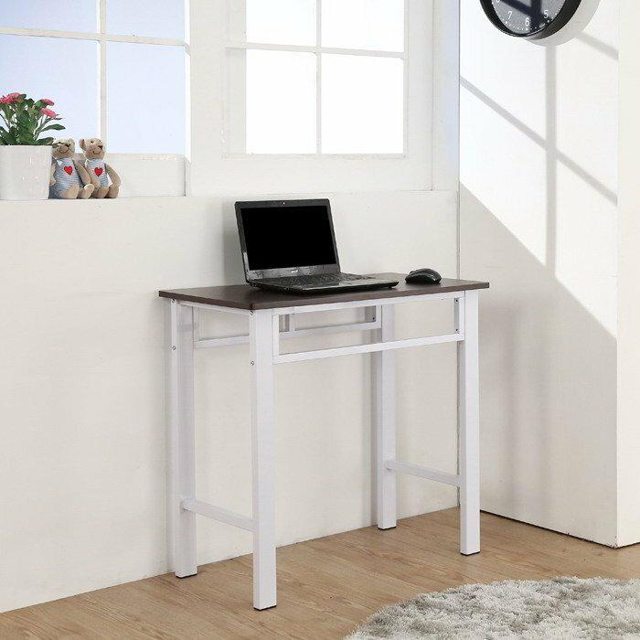 80穩固耐用電腦桌 工作桌 書 桌兩色~搭配50*25mm粗鐵管【馥葉】【型號DE842】可加購玻璃、鍵盤、抽屜