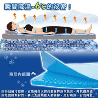 夏日寢具 涼感涼墊到日本熱賣~Ice Cool降溫涼感凝膠床墊(70*140加重)!冰墊/涼墊!取代涼蓆! ★班尼斯國際家具名床就在班尼斯國際家具名床推薦夏日寢具 涼感涼墊