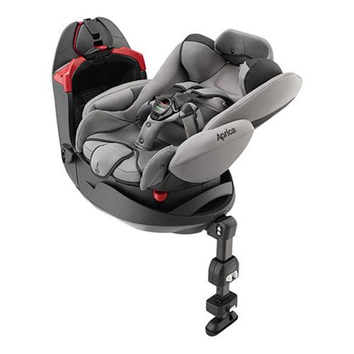 【悅兒樂婦幼用品?】Aprica 愛普力卡 平躺型嬰幼兒汽車安全臥床椅 Fladea grow STD-布拉格灰