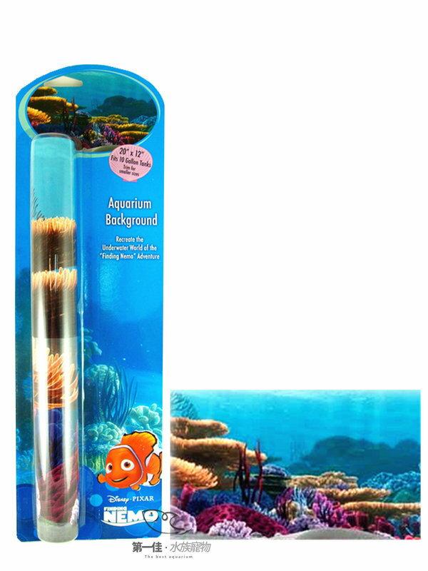 [第一佳 水族寵物] 美國PENNPLAX 卡通飾品系列-海底總動員(授權販售) [尼莫的家背景圖]