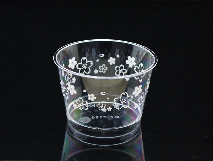 慕斯杯、奶酪杯、甜品杯、布丁杯、櫻花杯、中圓杯B7550~3、MY7550(含透明蓋)25