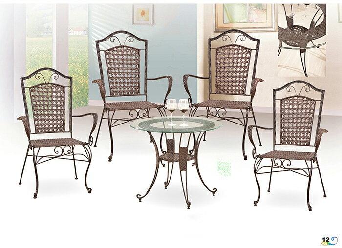 【尚品傢俱】JJ-1803 A9色3尺鍛鐵休閒桌~另有鍛鐵休閒椅~