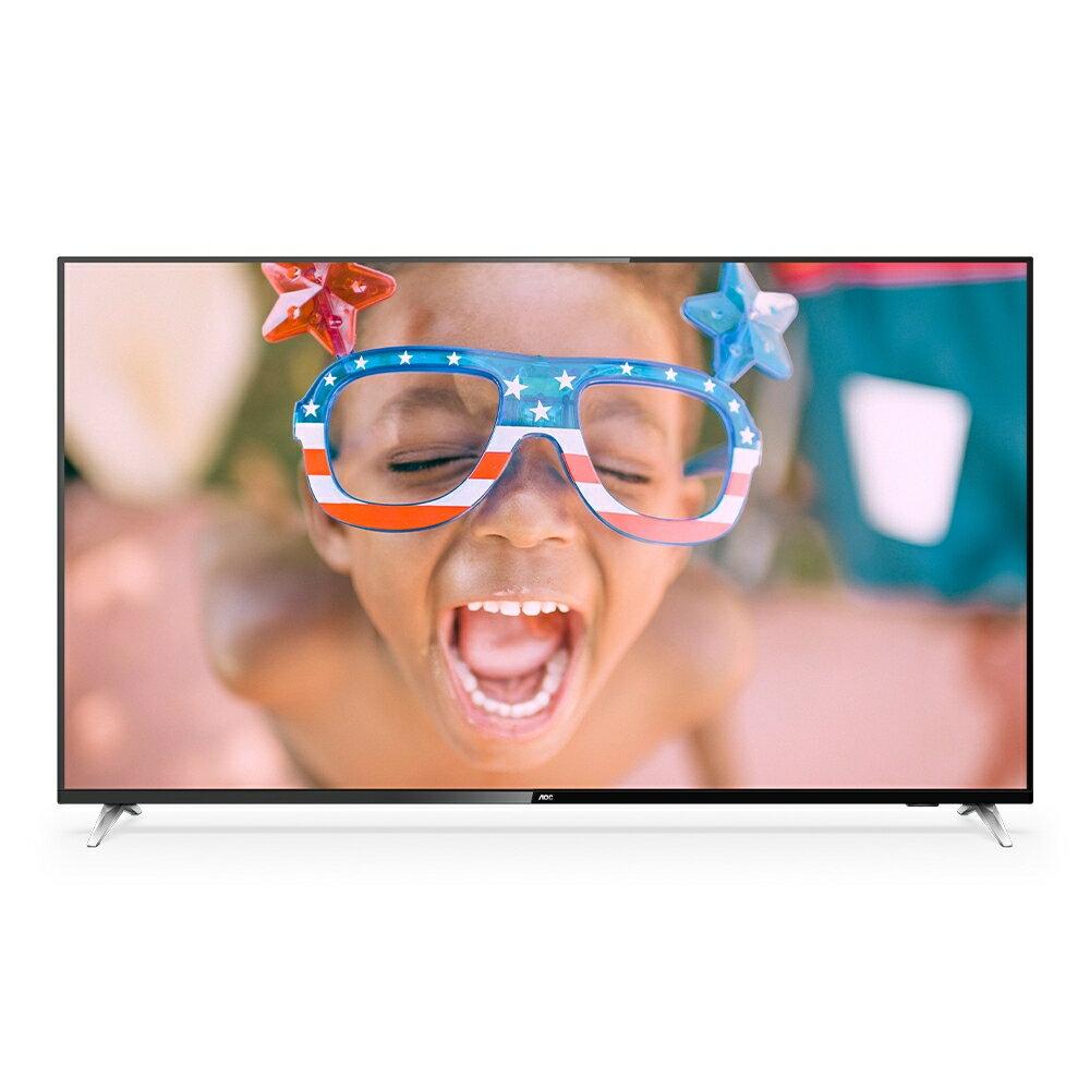 【AOC】43型 4K HDR 聯網液晶顯示器 視訊盒 43U6205 -含運無安裝【三井3C】