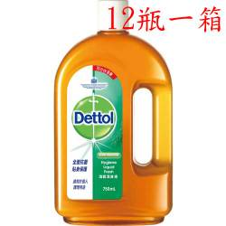 【短效期商品】Dettol 滴露潔身液 750ml X 12入