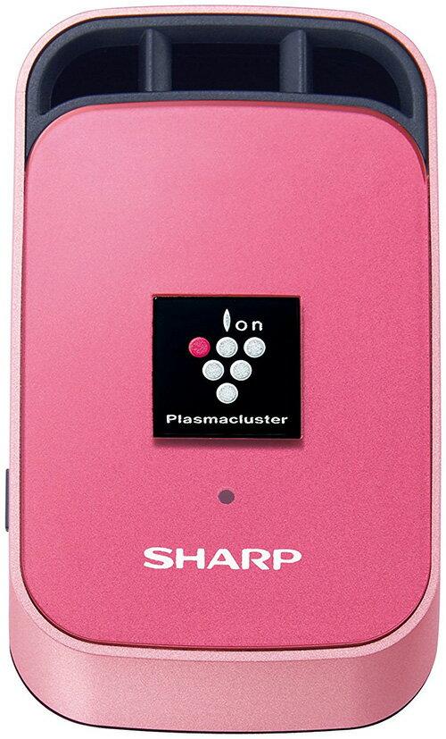 SHARP 【日本代購】 夏普 車用空氣清淨機 攜帶式 USB裝置 除異味 IG-GC1- 紅
