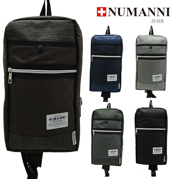 80-5010【NUMANNI 奴曼尼】尼龍單雙肩背包 (五色)