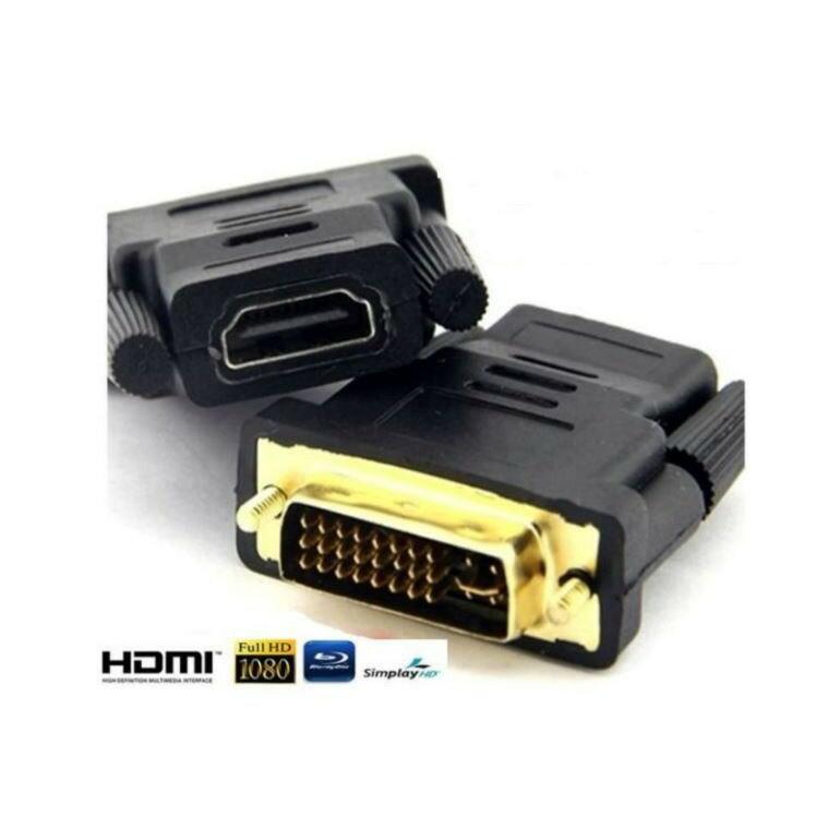 昇旺數位3C DVI公 HDMI母 HDMI(19)母/ DVI(24+5) 公轉接頭 LCD螢幕 DVI線 HDMI線 DVI轉接頭