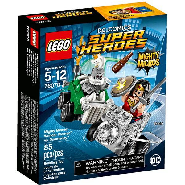 樂高積木 LEGO《 LT76070》SUPER HEROES 超級英雄系列 -Mighty Micros: Wonder Woman™ vs. Doomsday™