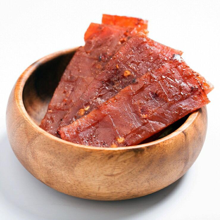 嚴選泰式檸檬豬肉乾 200g / 包 肉乾 零嘴 台灣製造 新鮮食材 特選豬肉(含辣椒、檸檬) 3
