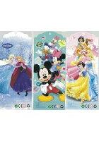 三合一獎勵集點貼紙:冰雪奇緣+米奇米妮+迪士尼公主