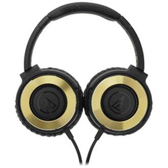 日本直送 含運/代購-日本鐵三角 Audio Technica /耳罩式耳機/ATH-WS550 /深金