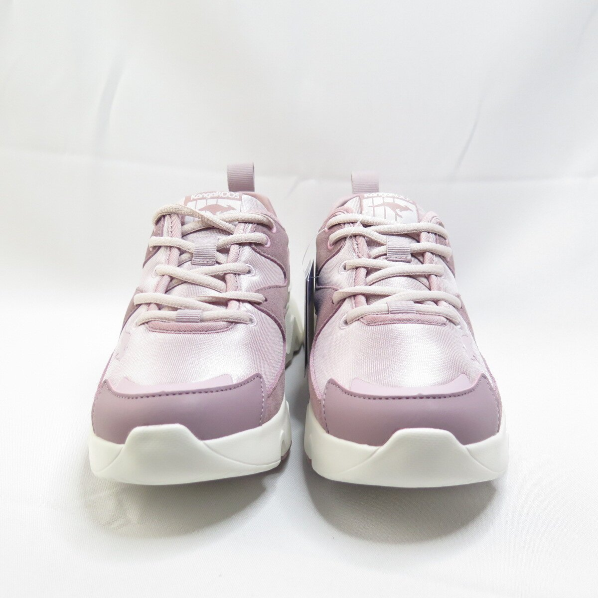 KangaROOS 袋鼠 GROOVE II 復古休閒鞋 KW11263 女款 粉【iSport愛運動】