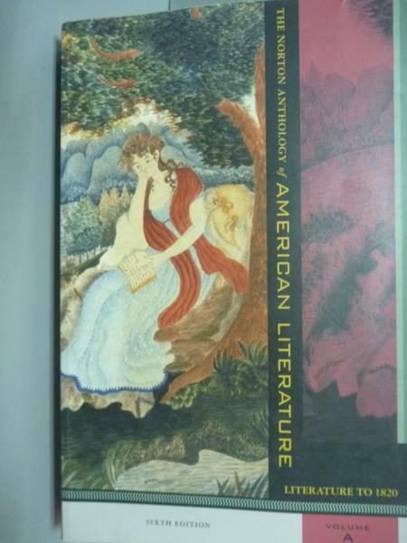 【書寶二手書T1/原文書_PIT】The Norton Anthology…Volume:A_Nina Baym