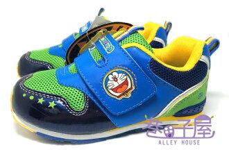 【巷子屋】哆啦A夢 男童健康成長輕量運動機能鞋 [31616] 藍 超值價$198