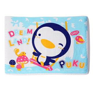 『121婦嬰用品館』PUKU 波浪乳膠枕 - 藍 0