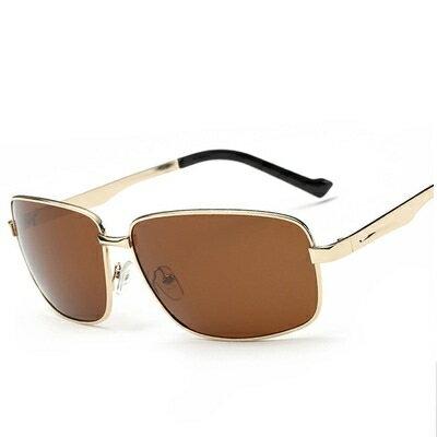 太陽眼鏡偏光墨鏡~帥氣型男金屬窄框腿男眼鏡 4色73en18~ ~~米蘭 ~