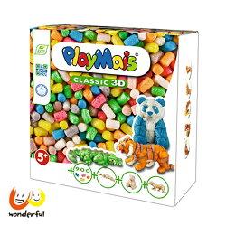 【獨家下殺9折】Playmais 玩玉米創意黏土最萌野生動物3D盒