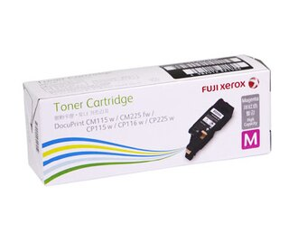 FujiXerox DocuPrint CT202266 原廠原裝高容量紅色 (M) 碳粉匣 適用CP115w/CP116w/CP225w/CM115w/CM225fw