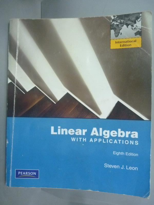 ~書寶 書T1/大學理工醫_WDW~Linear Algebra with Applica