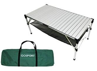 【【蘋果戶外】】Go Sport 92117 132 x 72cm 高級6人鋁捲桌 蛋捲桌 休閒桌 摺疊桌 非TAB-980H 速可搭 中和