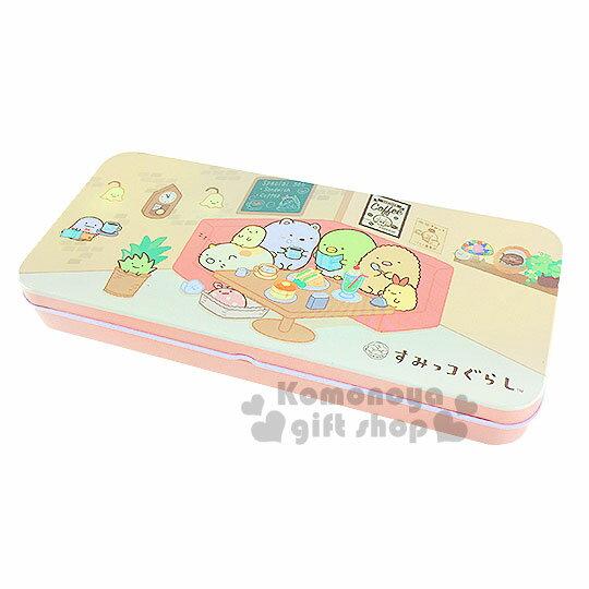 〔小禮堂〕角落生物 鐵製筆盒《粉.咖啡廳.聚餐》增添學童學習樂趣