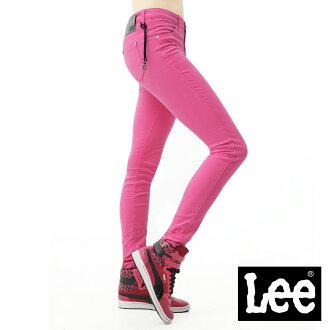 【單一價↘899】Lee 牛仔褲 419 低腰貼身窄管-女款(螢光桃紅)