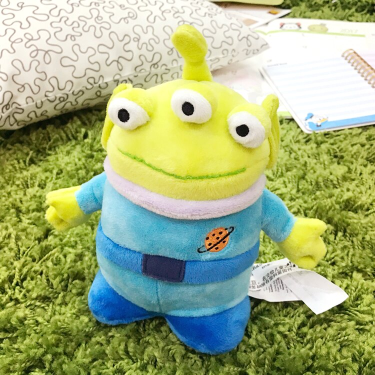 PGS7 日本迪士尼系列商品 - 日本 迪士尼 經典 三眼怪 Alien 玩偶 絨毛 娃娃 玩具總動員【SJJ7412】