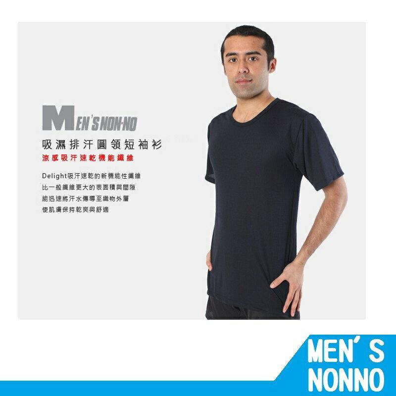 【RH shop】 MEN`S nonno 儂儂 吸濕排汗圓領短袖衫-90530