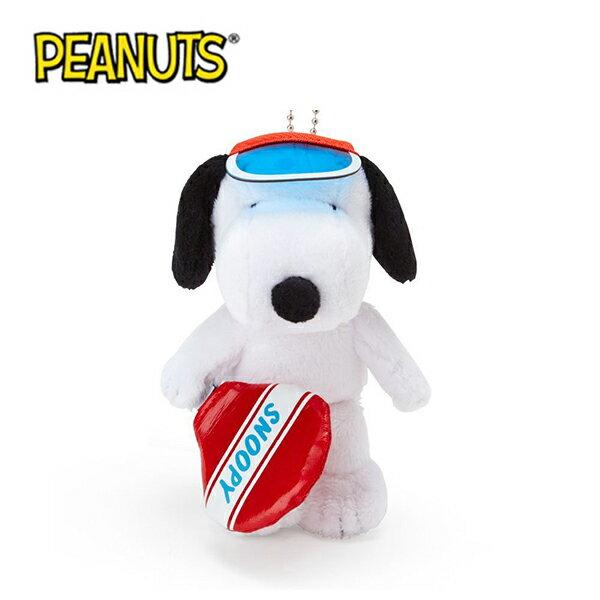 網球款【日本正版】史努比 造型玩偶 吊飾 絨毛玩偶 Snoopy PEANUTS - 583388