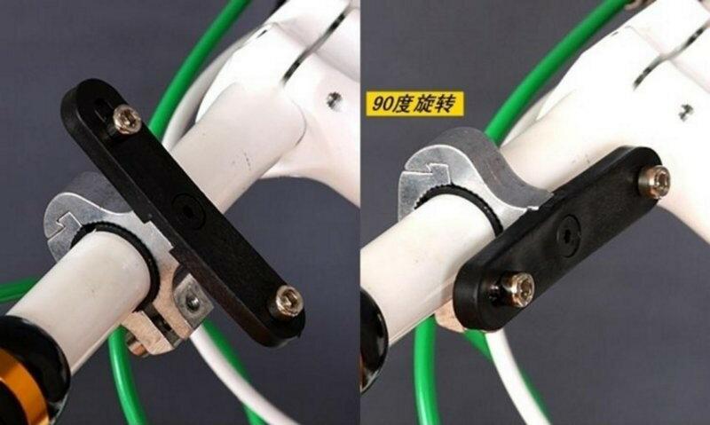 《意生》X-FREE 可90度旋轉 水壺架鋁合金轉接座 轉接頭轉換器延伸杯架水壺座腳踏車單車水壺飲料杯飲料架擴充座