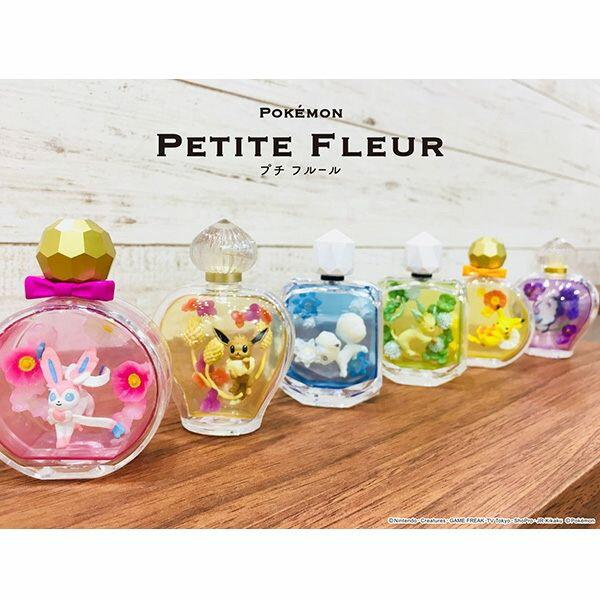 【寶可夢香水瓶擺飾】寶可夢 飼育球 擺飾 盒玩 香水瓶 Re-ment 正品 該該貝比  ☆