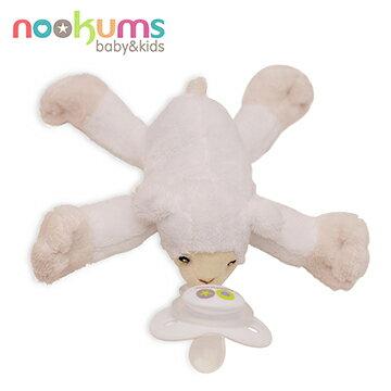 NANABABY:【美國nookums】安撫奶嘴玩偶-甜蜜羊#NOO001003