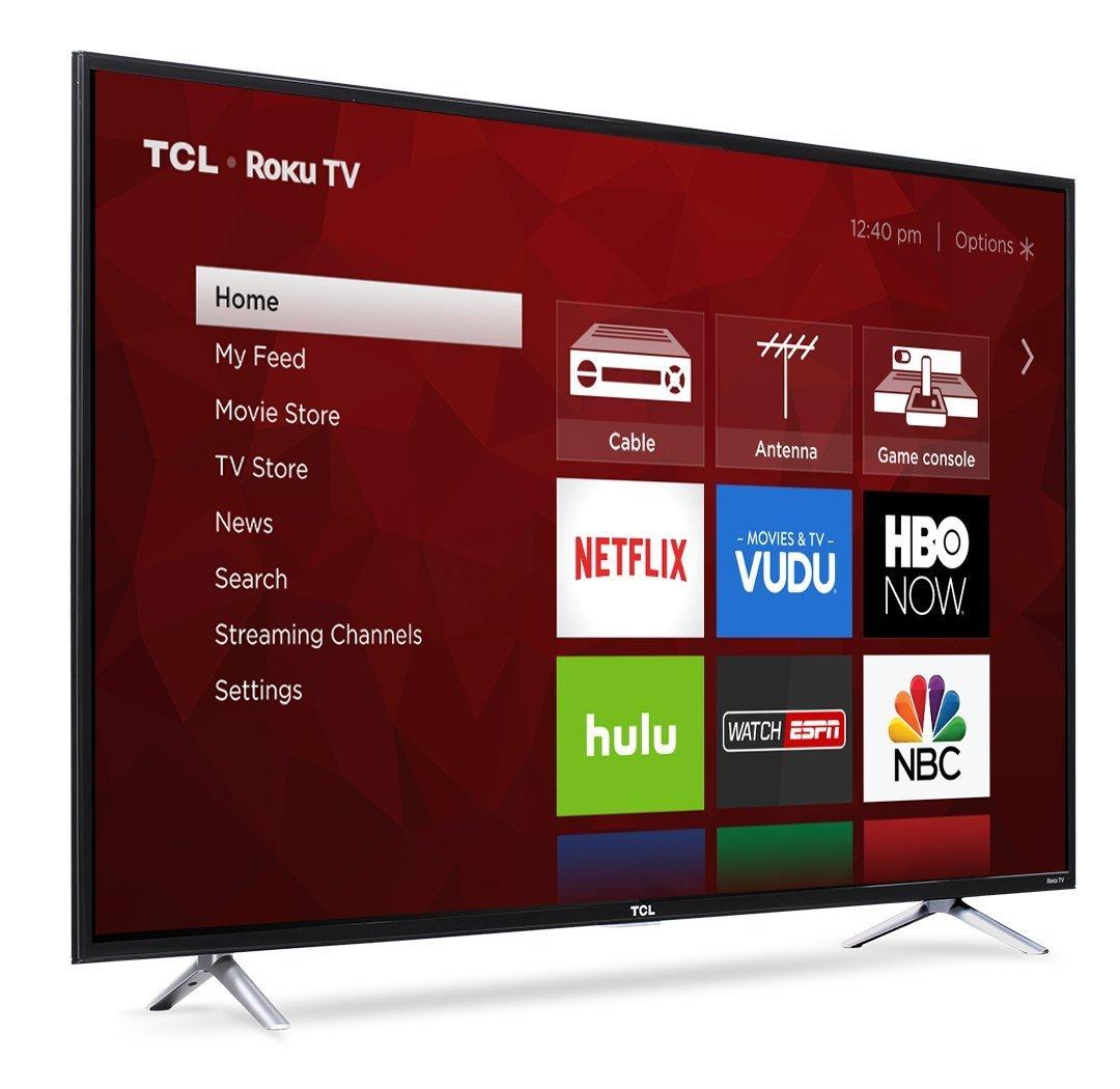 TCL 55S405 55-Inch 4K Ultra HD Roku Smart LED TV (2017 Model) 1