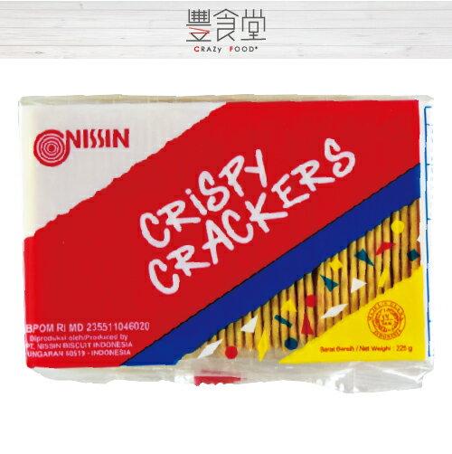 【豐食堂】印尼 NISSIN Crispy Crackers 日清起士餅乾 225g