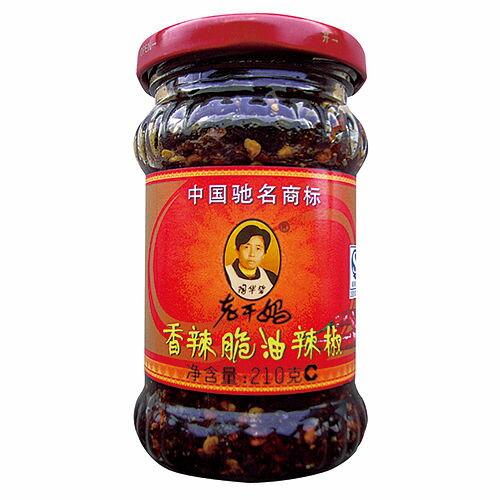 老干媽-香辣脆油辣椒210g